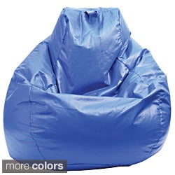 Gold Medal Large Wet-look Vinyl Teardrop Bean Bag
