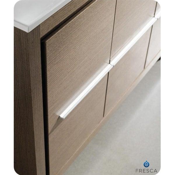 fresca allier 48 inch grey oak modern bathroom vanity with