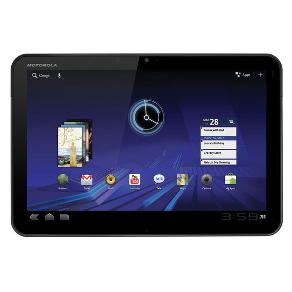 "Motorola XOOM 32GB Wi-Fi 10.1"" Touchscreen Android 3.1 OS Tablet PC"