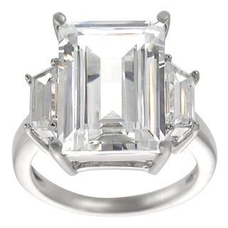 Journee Collection  Cubic Zirconia Bridal-style Ring