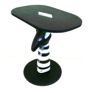 Zebra Tribal Coffee Table (Ghana)
