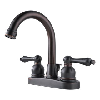 Peerless WAS00XBZ Two Handle Centerset Oil Rubbed Bronze Lavatory Faucet