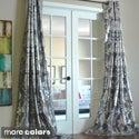 Amirah Intricate Damask Metallic Curtain Panel