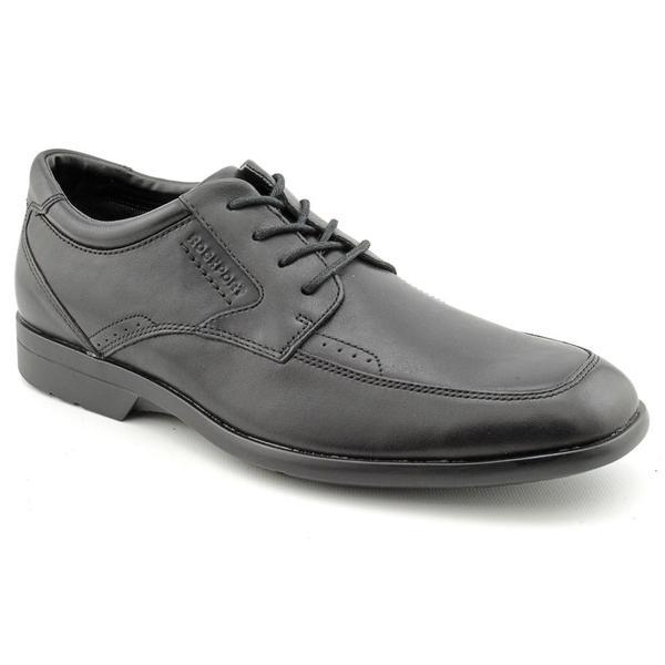 Rockport Men's 'Business Lite Moc Toe' Full-Grain Leather Dress Shoes