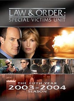 Law & Order: Special Victims Unit Season 5 (DVD)