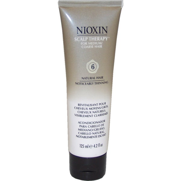 Nioxin System 6 For Medium/Coarse Noticeably Thinning Hair 4.2-ounce Scalp Therapy