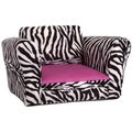 Christopher Knight Home Jordana Kids' Zebra/ Pink Club Chair