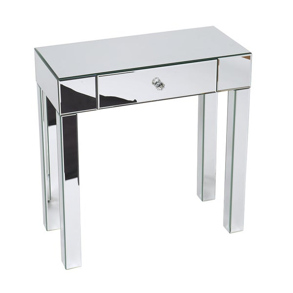 Office Foyer Table : Ave six reflections mirrored foyer table overstock
