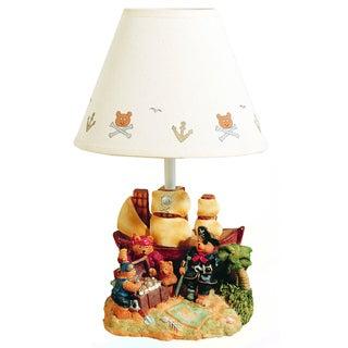 Cal Lighting Kids Treasure Island Table Lamp
