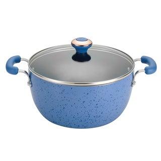 Paula Deen Signature Porcelain Blueberry 5.5-Quart Covered Casserole