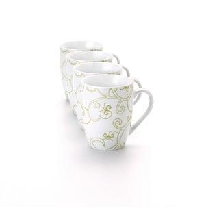 Rachael Ray Dinnerware Curly-Q 4-piece Mug Set