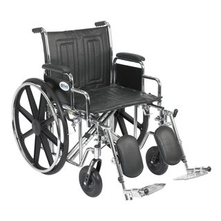 Sentra EC Heavy Duty Wheelchair with 20-inch Desk Arms