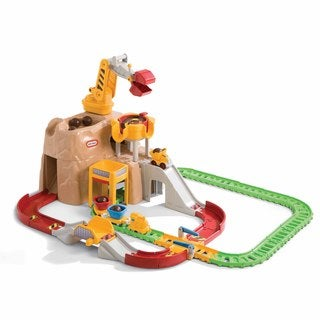 Little Tikes Big Adventures Construction Peak Rail 'n Road