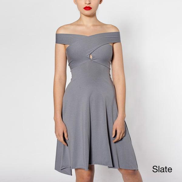 American Apparel Women's Convertible Jersey Bandeau Dress