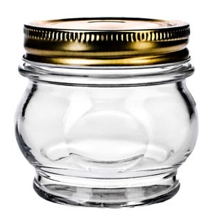 Orto 5.5-oz Canning Jars with Lid (Set of 6)