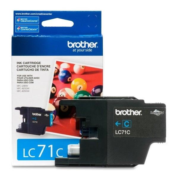 Brother Innobella LC71C Standard Yield Ink Cartridge
