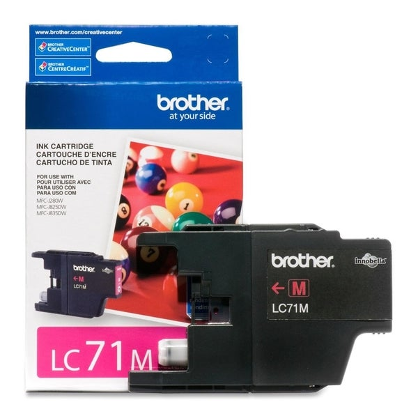 Brother Innobella LC71M Standard Yield Ink Cartridge