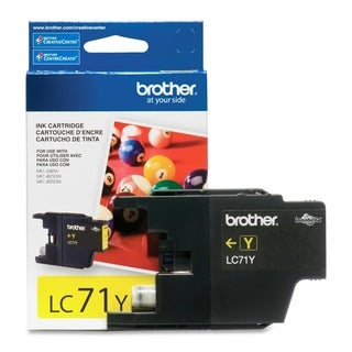 Brother Innobella LC71Y Standard Yield Ink Cartridge
