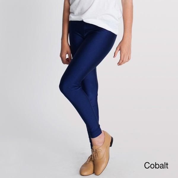 American Apparel Girls Nylon Tricot Legging
