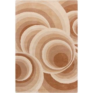 Filament Geometric Wool Rug (5' x 7'6)