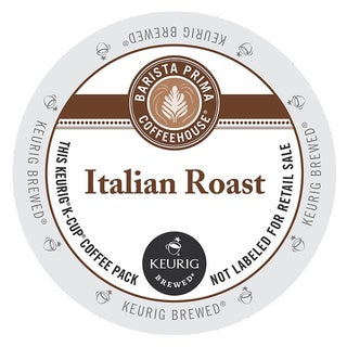 Barista Prima Italian Roast Coffee K-Cups for Keurig Brewers (48 count)
