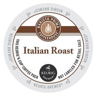 Barista Prima Italian Roast Coffee K-Cups for Keurig Brewers (48 count)