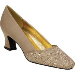 Women's Colorful Creations Audrey Gold Satin