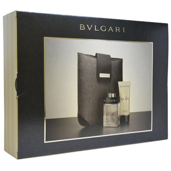 Bvlgari Man Men's 3-piece Gift Set