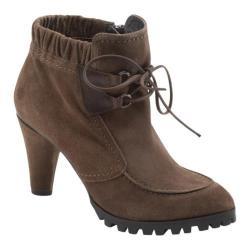 Women's Antia Shoes Gloria Mocha Leather/Suede
