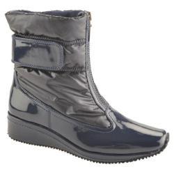 Women's Antia Shoes Nikita Navy Patent/Nylon