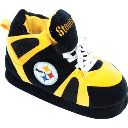 Men's Comfy Feet Pittsburgh Steelers 01 Black/Gold