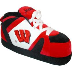 Comfy Feet Wisconsin Badgers 01 Red/White/Black