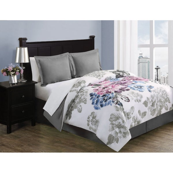 Evanscent 8-piece Bed in a Bag with with Sheet Set