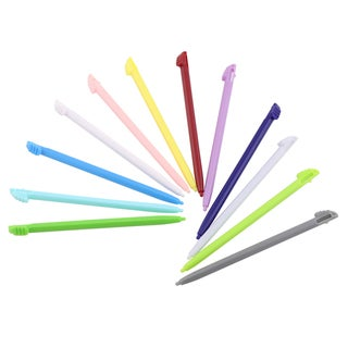 INSTEN Pink/ Blue/ Green/ Purple/ Grey/ Red Styli for Nintendo 3DS XL (Pack of 12)