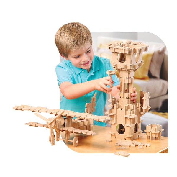TreeHaus Slotto Wooden Construction Set