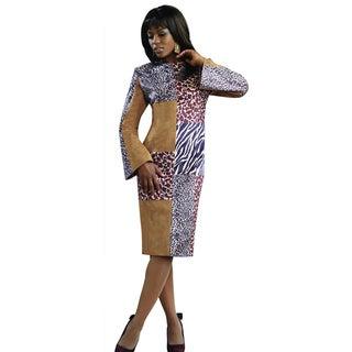 Lisa Rene Women's Faux Suede Dress