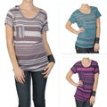 Journee Collection Juniors Short-sleeve Scoop Neck Tee