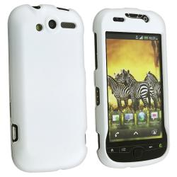 White Rubber Coated Case for HTC T-mobile myTouch 4G