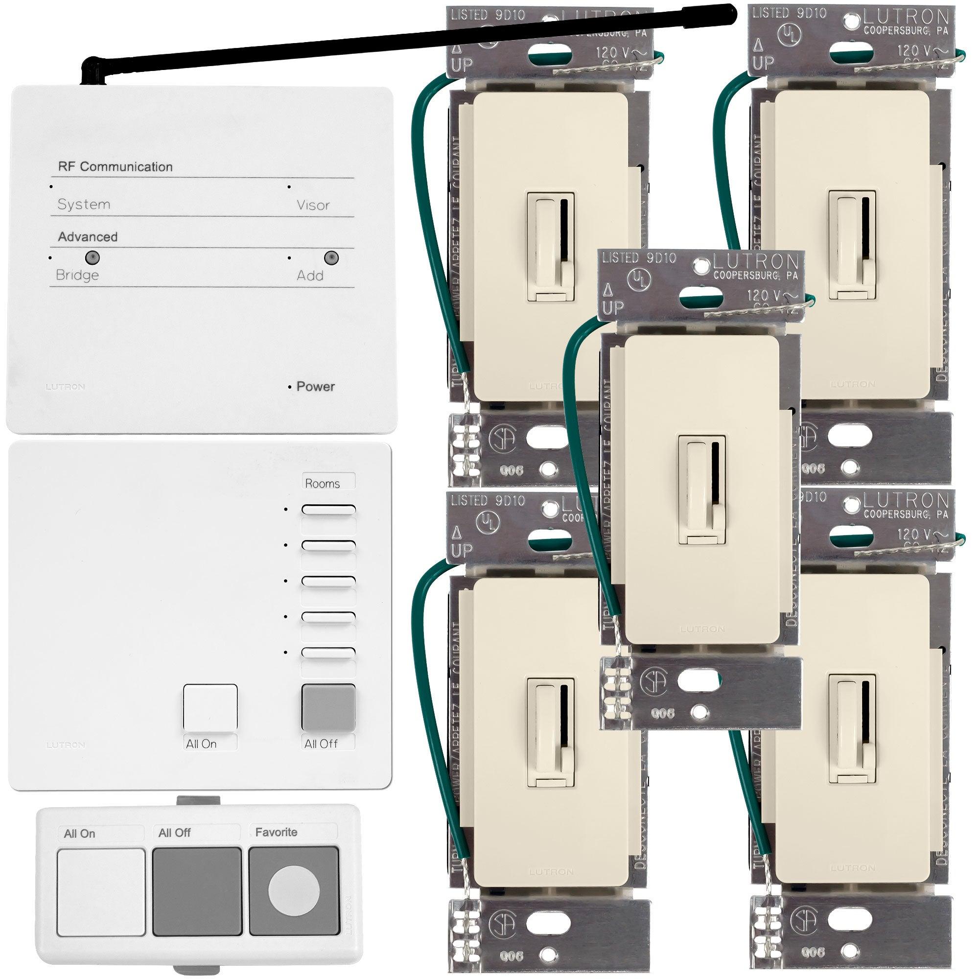 Lutron AuroRa Wireless Lighting Control System