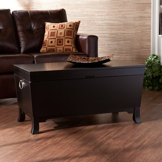 Upton Home Parsons Black Coffee/ Cocktail Table Trunk