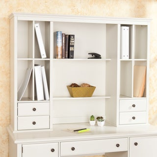 Barrington Off White Office Desk Hutch