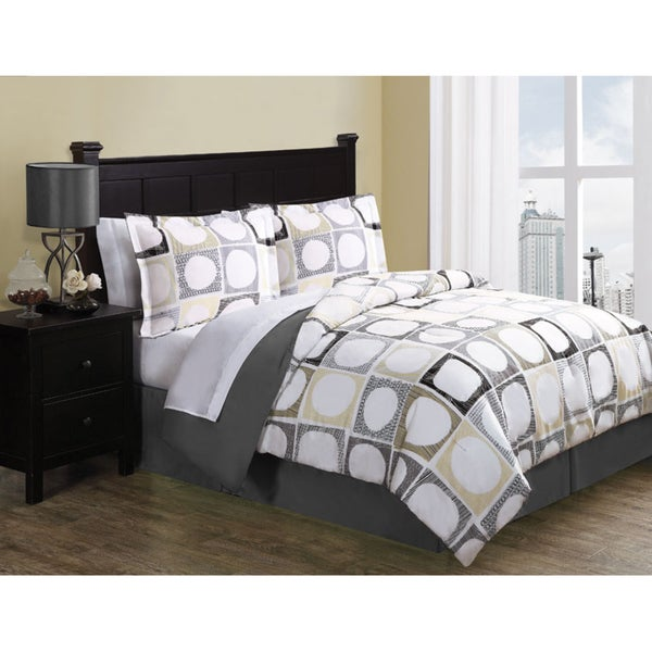 Elroy 8-piece Bed in a Bag with Sheet Set