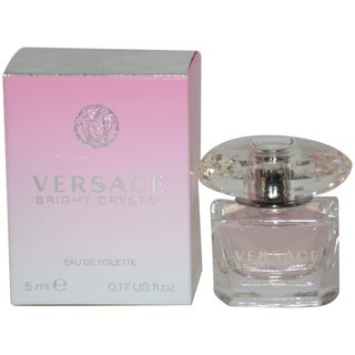Versace Bright Crystal Women's 5-ml Eau de Toilette Splash (Mini)