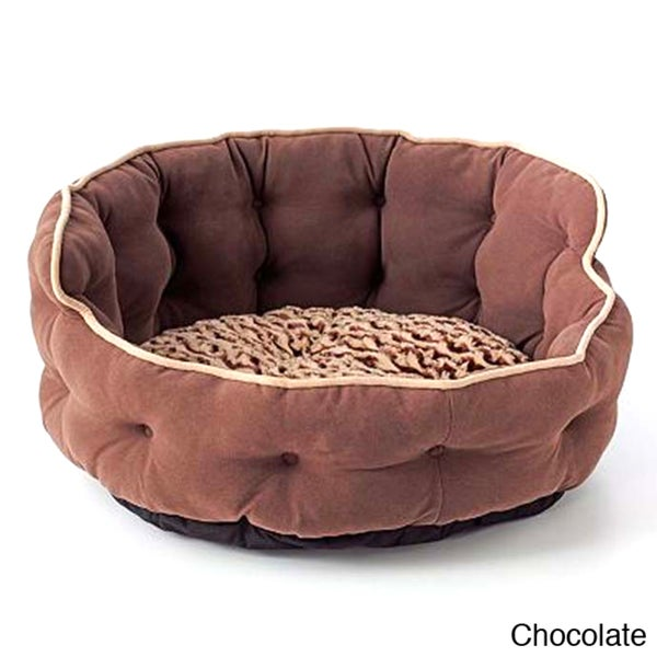 Tufted Headboard Pet Bed