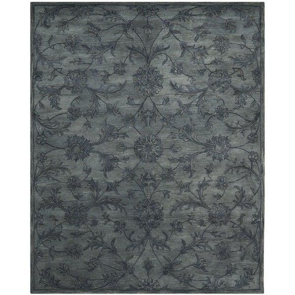 Safavieh Handmade Antiquities Grey Wool Rug