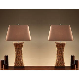Wiki 35-inch Table Lamps (Set of 2)