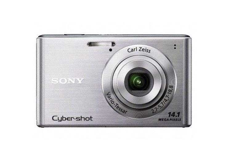 Sony Cyber-Shot DSC-W550 14.1MP Silver Digital Camera