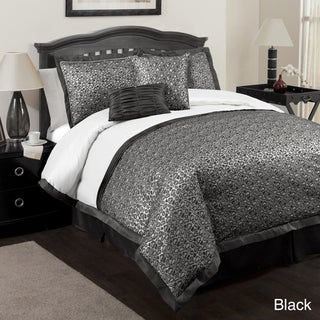 Lush Decor Leopard 6-piece Comforter Set