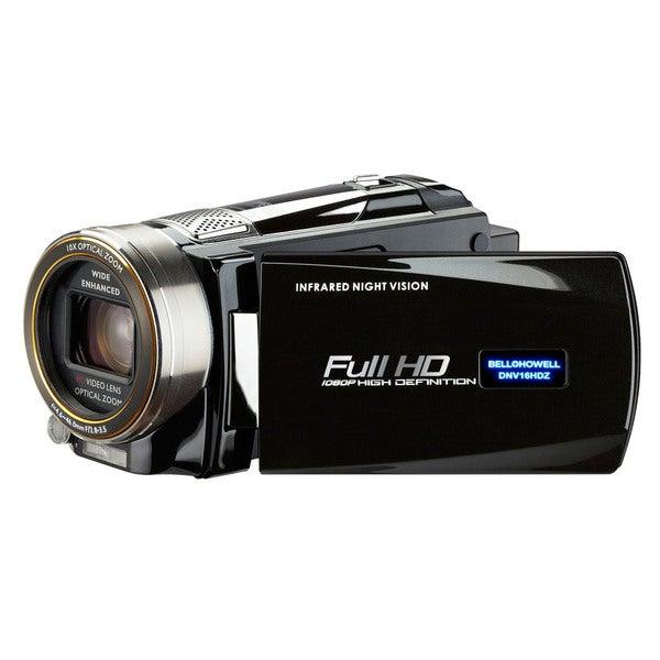 Bell + Howell Rogue DNV16HDZ-BK Full 1080p HD Night Vision Digital Video Camcorder
