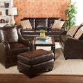 Claymore Chocolate 4-piece Sofa Set